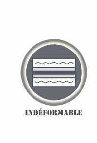 Indeformable