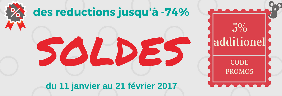 Soldes HIVER -5% SUPPLEMENTAIRE