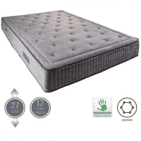 matelas premium v12 12cm mousse a memoire de forme destockage literie. Black Bedroom Furniture Sets. Home Design Ideas