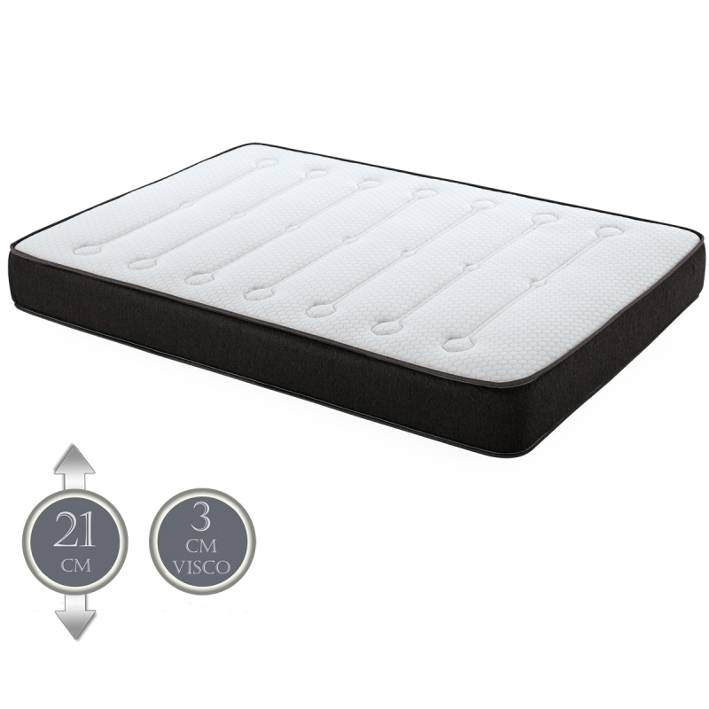 matelas dormizen 3 cm mousse memoire de forme destockage. Black Bedroom Furniture Sets. Home Design Ideas